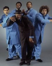 Electric Boogaloos: (Left to Right) Mr. Wiggles, Popping Pete, Boogaloo Sam, Skeet, Suga Pop
