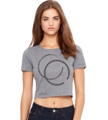 Grey Crop Top $20