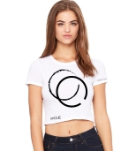 White Crop Top $20